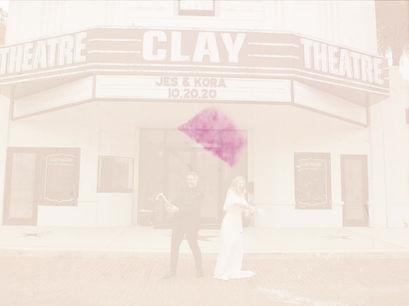 Intimate Wedding Film Teaser | Jes + Kora | Clay Theatre | Green Cove Springs, FL