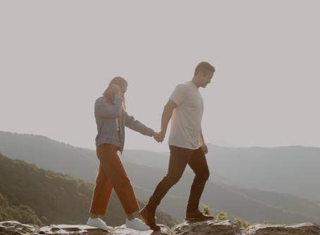 Blue Ridge Parkway Engagement Film | Asheville, North Carolina | Colleen & Chris