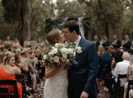Tori + Zach | Chandler Oaks Barn Wedding Video Teaser | St. Augustine, FL
