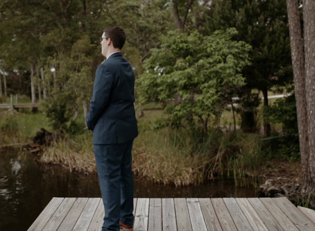 Emotional First Look | Katherine + Brandon | Florida Wedding Film