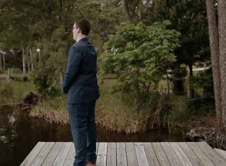 Emotional First Look   Katherine + Brandon   Florida Wedding Film