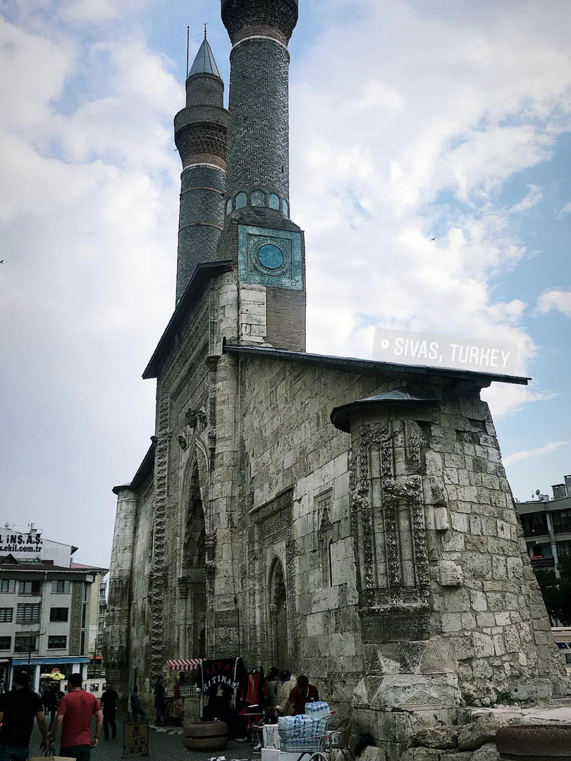 Remainings in Sivas.