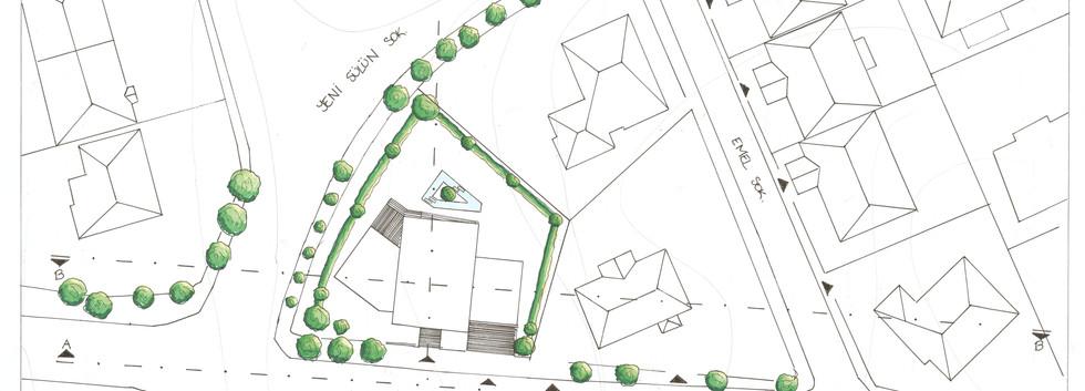Site plan Levent