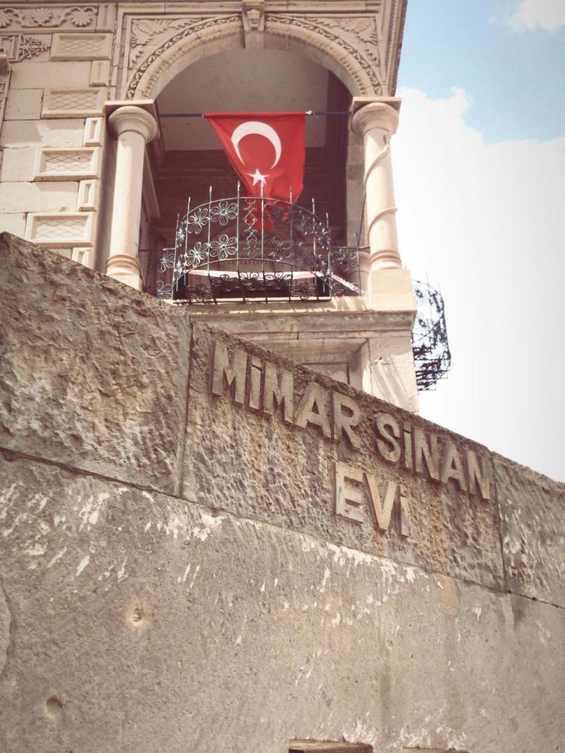 Architect Sinan house in Kayseri.