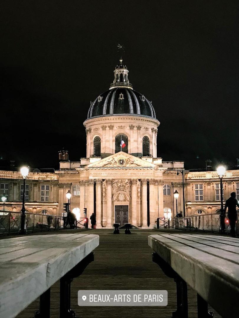 Les Beaux-Art de Paris.