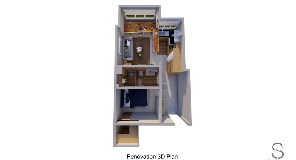 3D renovation concept