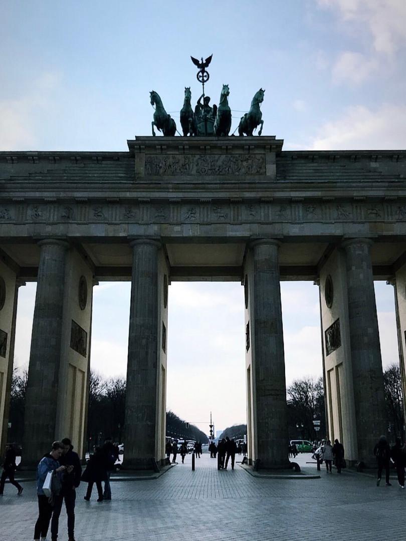 Monumental gate