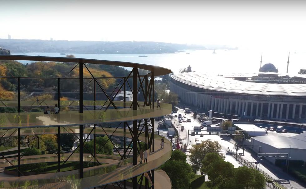 Panoramic view - Gasometer