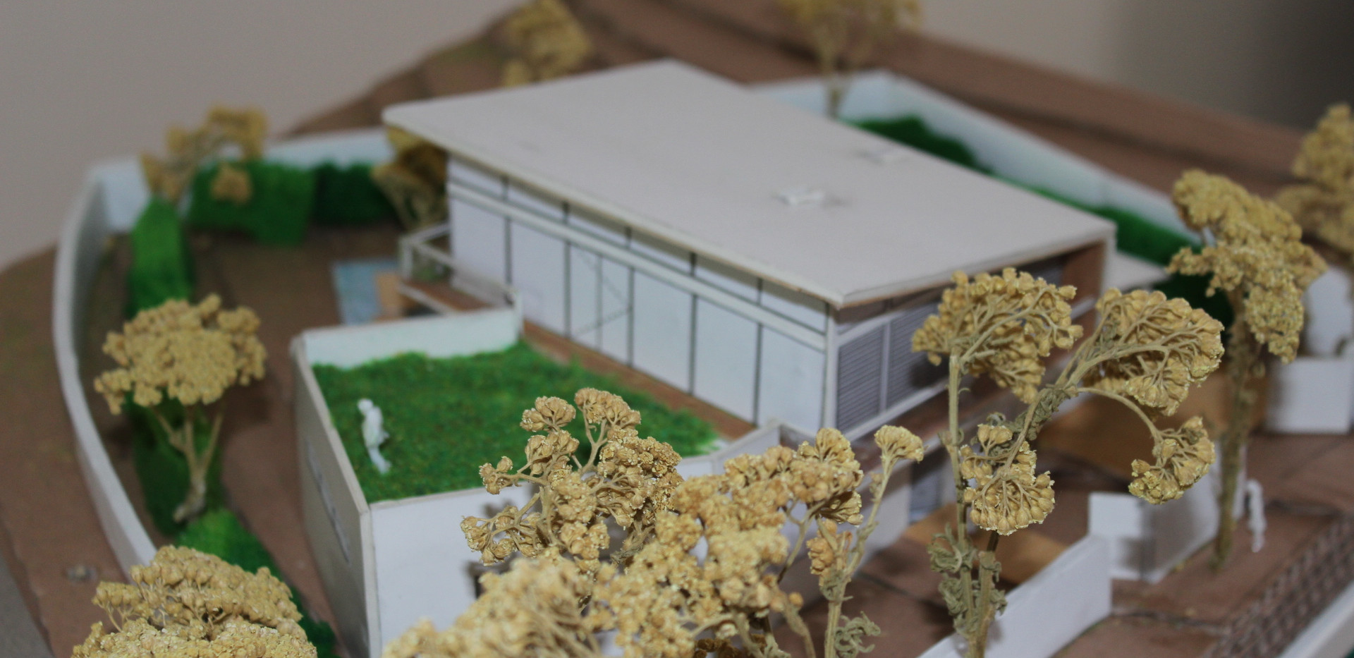 Picture of the model, Green terrace