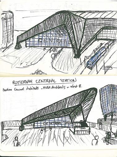 Rotterdam, Central Station