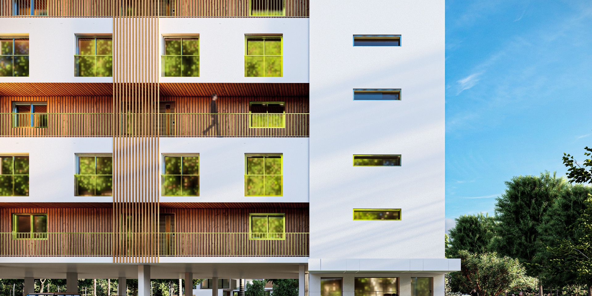 Bi-House Alternative Façade