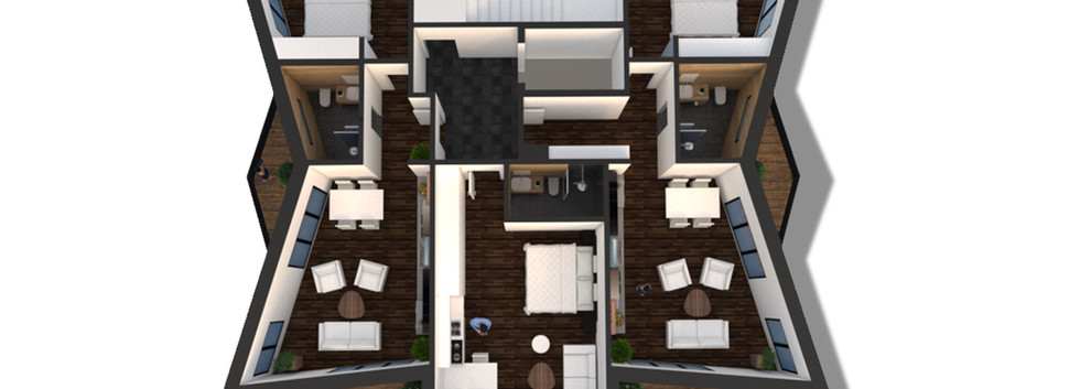Visualisation 3D Floor Type 1