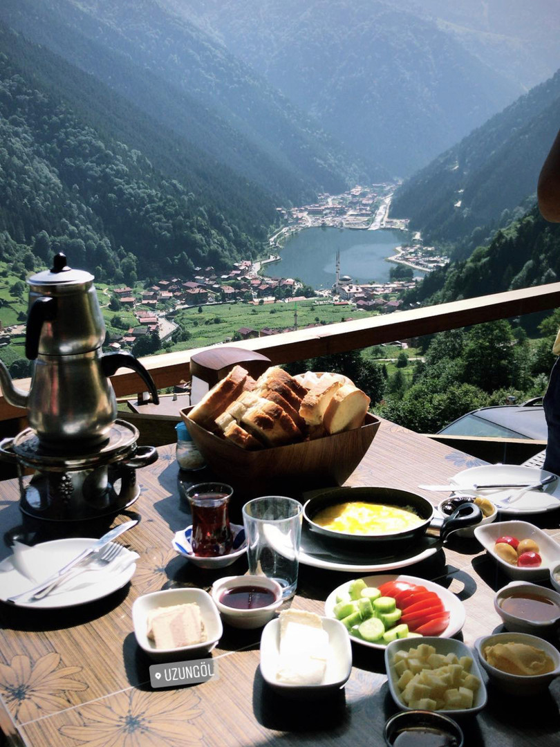 Turkish breakfast ? or Turkish landscape