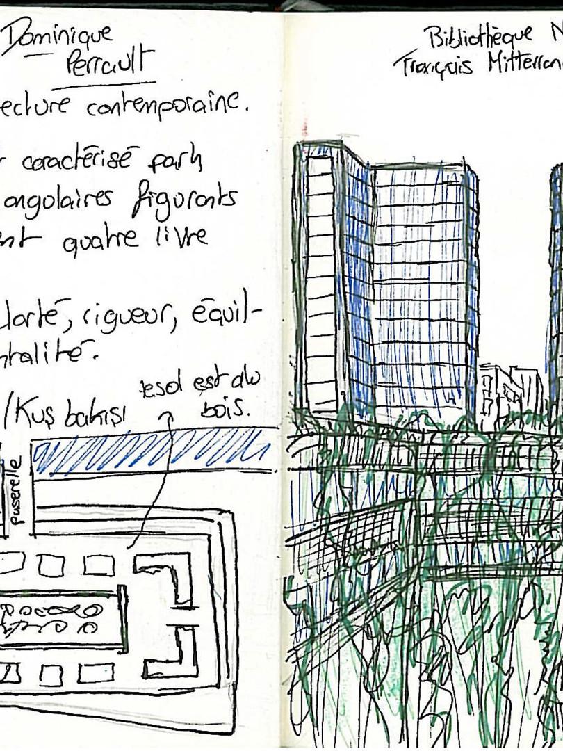 Paris, Bibliothèque Nationale François Mitterand.