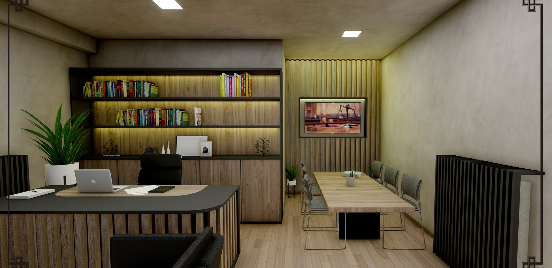 Working and Meeting Room
