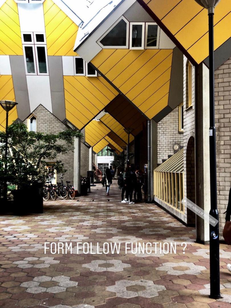 Form follows function ?