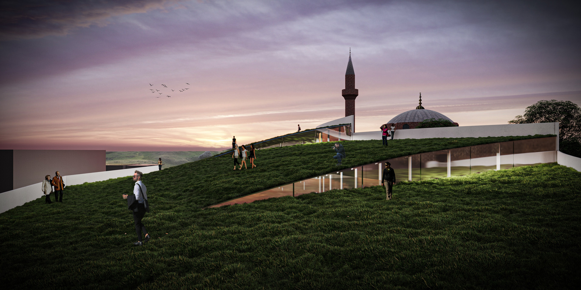 Green roof experience