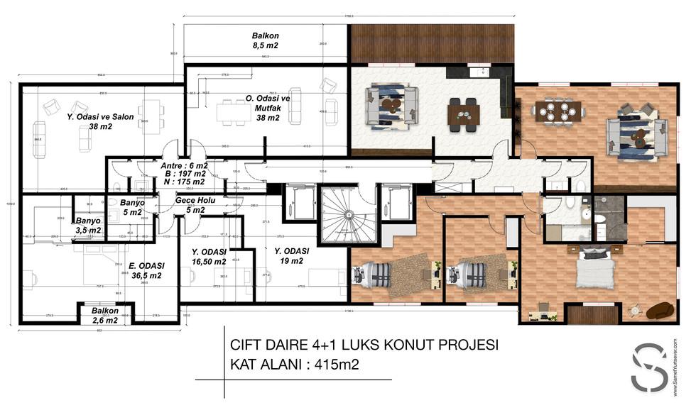 Floor plan drawing