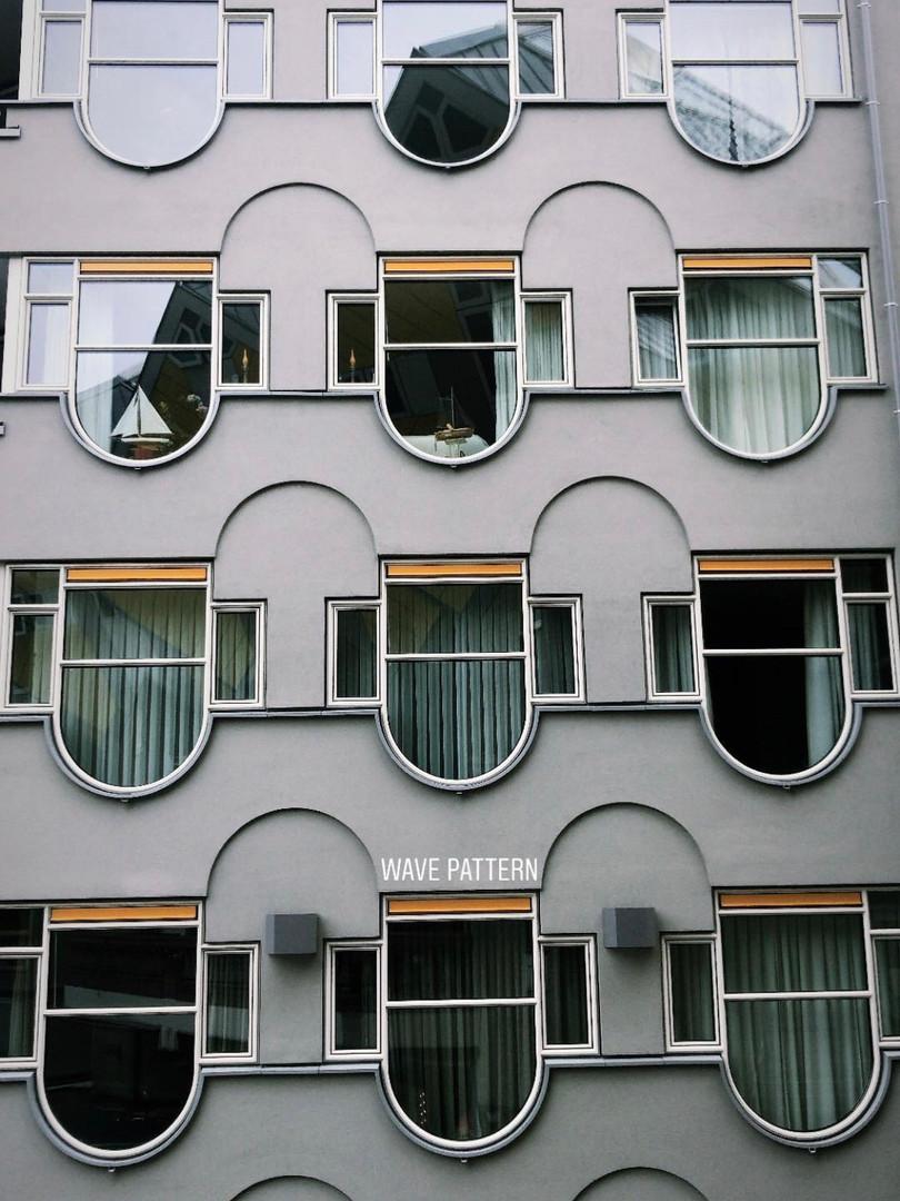 Wavy façade