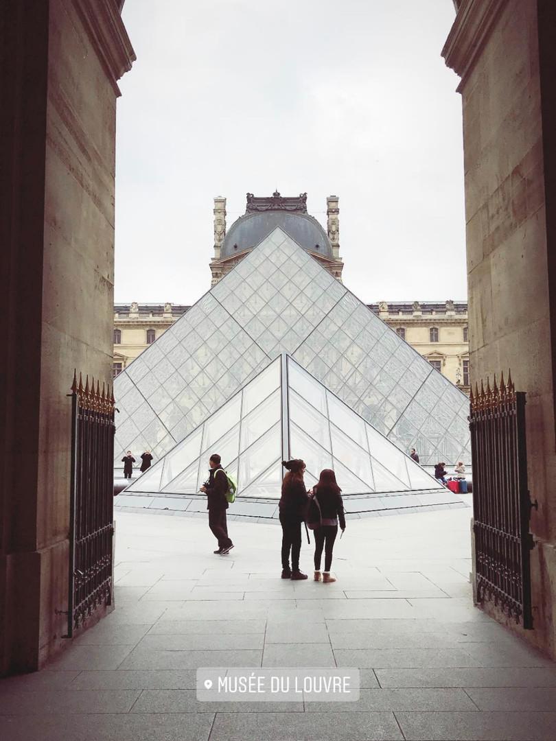 Levels of Le Louvre.