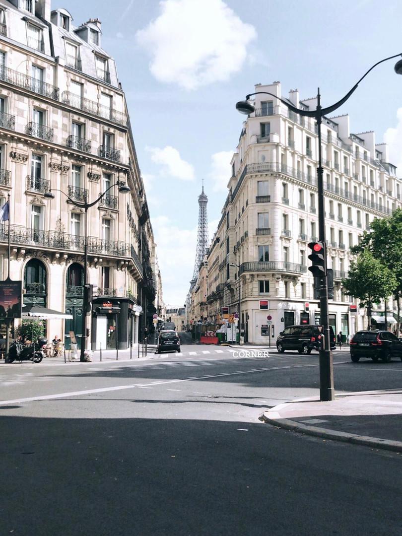 Lost in Paris.