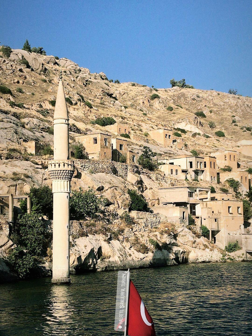 A city underwater ? Vernacular...