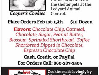 Cooper's Cookies Fundraiser