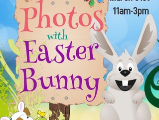 Photos With Easter Bunny