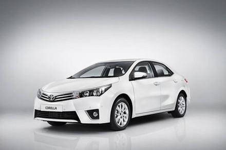 Toyota Collora 2014 อัพเดต