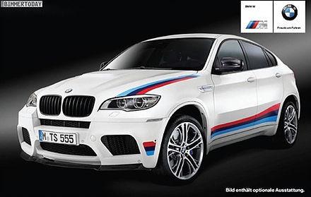หลุดภาพชุดแรก BMW X6 M Design Edition ครอสโอเวอร์สปอร์ตอีกระดับ