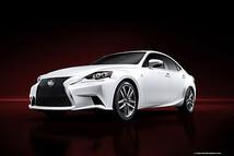 เผยโฉม 2014 Lexus IS เวอร์ชั่น F Sport