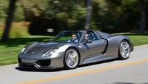 Porsche reveals pre-production 918 Spyder