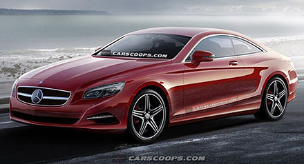 Mercedes Benz S-Class Coupe โฉมใหม่ พร้อมเปิดตัวในงาน Frankfurt Auto Show