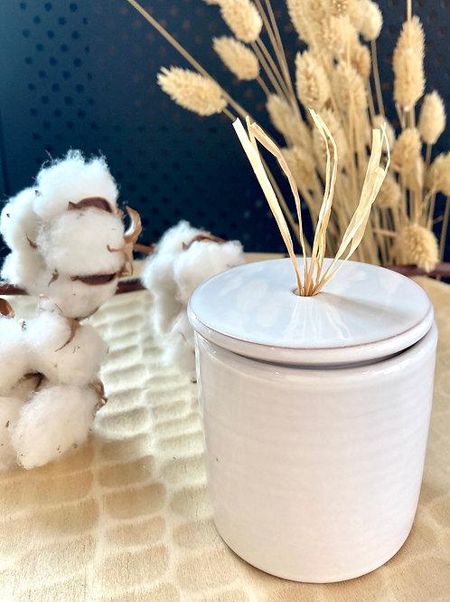 Bougie Cire végétale -  collection capsule - Vanille ou Nag Champa