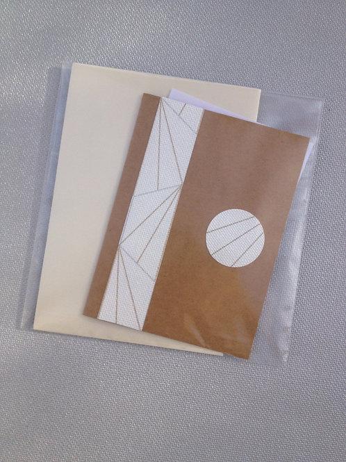 1 Carte postale Géo Motif Soleil levant