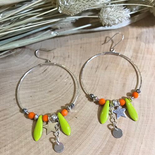 ...Boucles d'oreilles série Lise...
