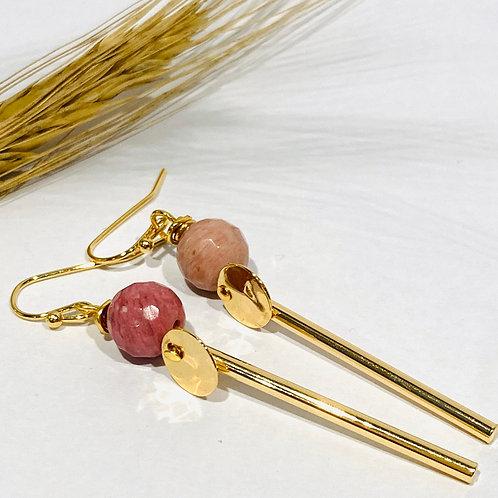 Boucle d'oreilles pendantes... Série Lisa