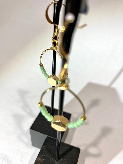 Boucles d'oreilles... série cristal