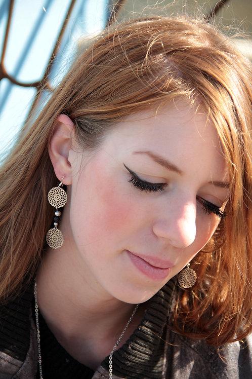 Boucles d'oreilles Collection Rosas