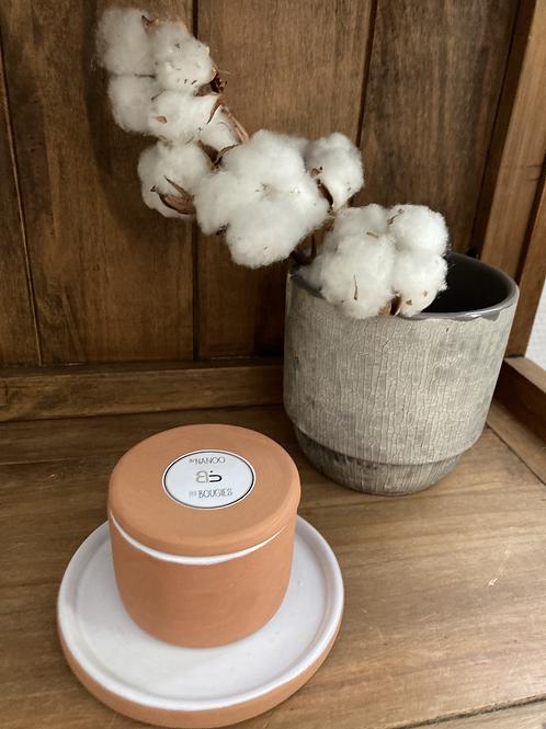Bougie Cire végétale -  collection capsule - Orange