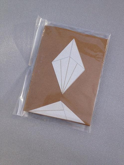 Carnet GéoGéo Motif Diamant