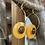 Thumbnail: Boucles d'oreilles...Série Tagua