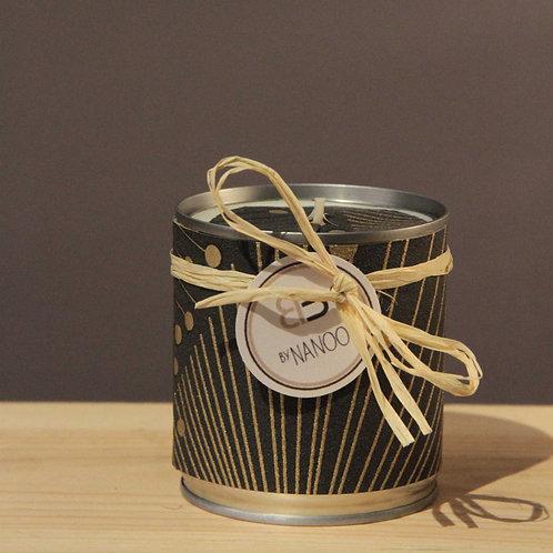 Bougie Cire végétale - parfum de Jasmin - Motif jap