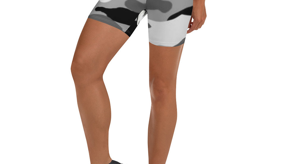 Point5ive Snow Camo Mid Thigh Shorts