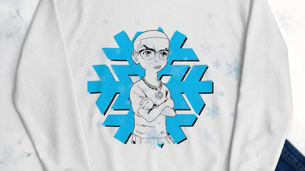 Vic Frozen Holiday Tee Unisex Sweatshirt
