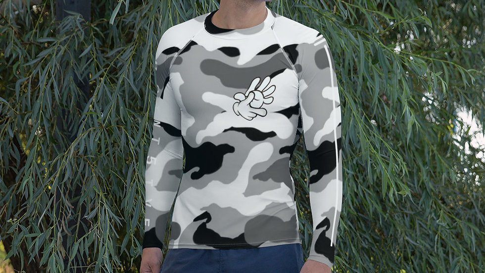 Point5ive Snowed Camo Athletic Long Sleeve