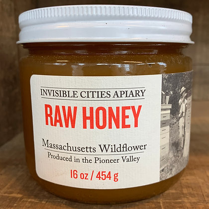 Raw Massachusetts Wildflower Honey