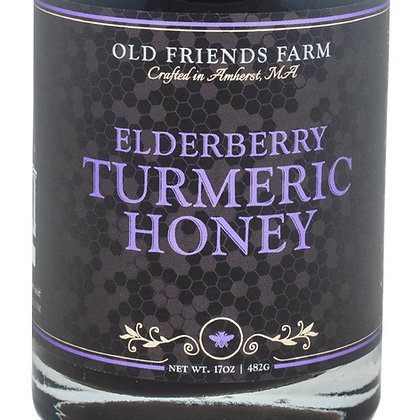 Elderberry Turmeric Honey, Bulk