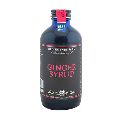 Certified Organic Ginger Syrup