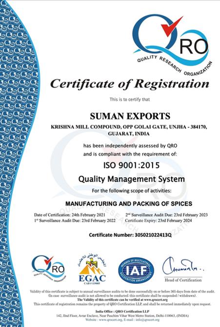 SUMAN EXPORTS QRO EGAC 9001.png